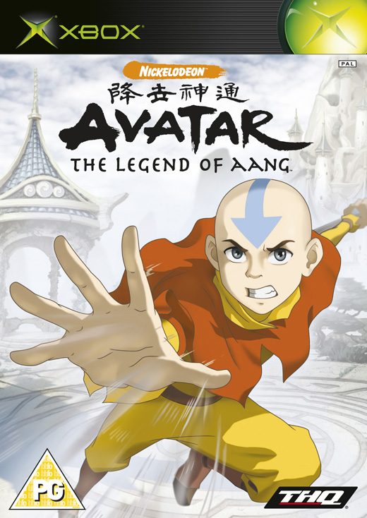 Caratula de Avatar: The Legend of Aang para Xbox