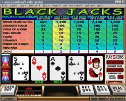 Pantallazo de Avery Cardoza's Video Poker 2000 para PC