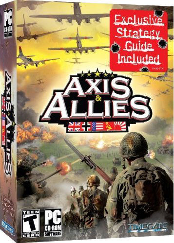 Caratula de Axis & Allies: Collector's Edition para PC