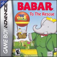 Caratula de Babar: To The Rescue para Game Boy Advance