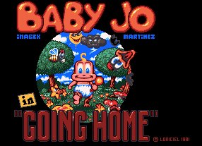 Pantallazo de Baby Jo In ''Going Home'' para Amiga