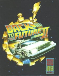 Caratula de Back To The Future Part II para Amiga