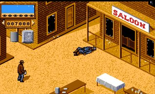 Pantallazo de Back To The Future Part III para Amiga