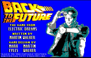Pantallazo de Back To The Future para Amstrad CPC