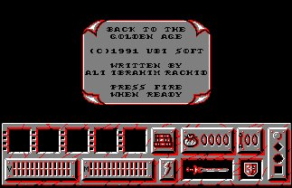 Pantallazo de Back To The Golden Age para Amstrad CPC