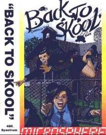 Caratula de Back to Skool para Spectrum