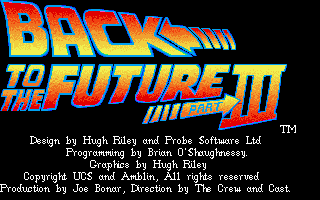 Pantallazo de Back to the Future Part III para PC