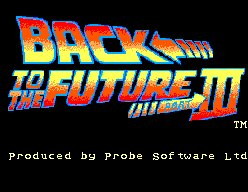 Pantallazo de Back to the Future Part III para Sega Master System