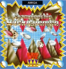 Caratula de Backgammon (King Size) para Amiga