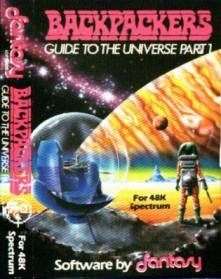 Caratula de Backpackers Guide to the Universe para Spectrum