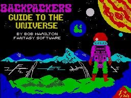 Pantallazo de Backpackers Guide to the Universe para Spectrum
