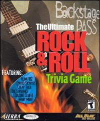 Caratula de Backstage Pass: The Ultimate Rock & Roll Trivia Game para PC