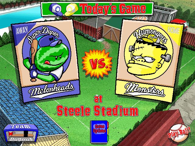 Backyard Baseball 2001 Pc