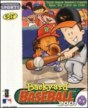 Caratula de Backyard Baseball 2001 para PC