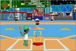 Pantallazo de Backyard Baseball 2006 para Game Boy Advance