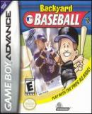 Carátula de Backyard Baseball