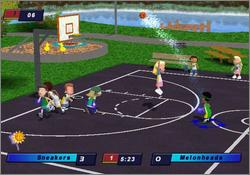 Pantallazo de Backyard Basketball 2004 para PC