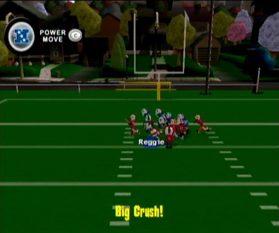 Pantallazo de Backyard Football 09 para Wii