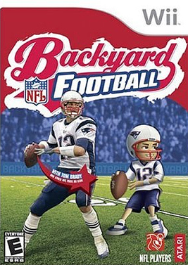 Caratula de Backyard Football para Wii