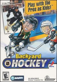 Caratula de Backyard Hockey para PC