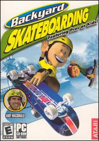 Caratula de Backyard Skateboarding para PC