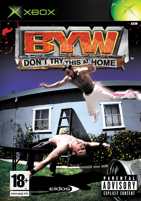 Caratula de Backyard Wrestling: Don't Try This at Home para Xbox