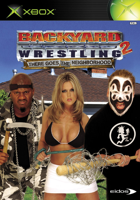 Caratula de Backyard Wrestling 2: There Goes the Neighborhood para Xbox
