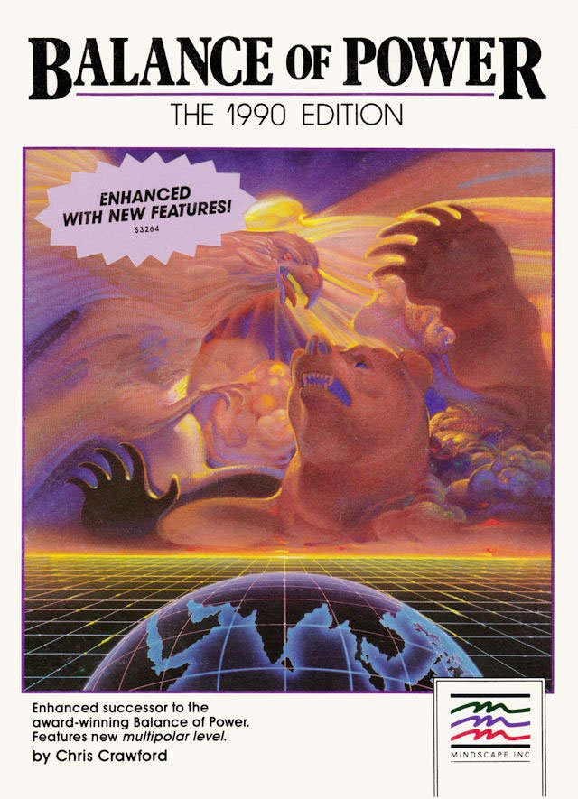 Caratula de Balance of Power: The 1990 Edition para Atari ST