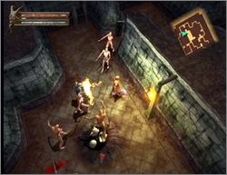Pantallazo de Baldur's Gate: Dark Alliance para GameCube
