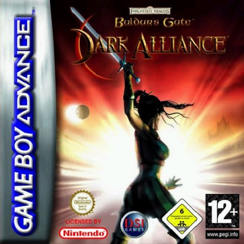 Caratula de Baldur's Gate: Dark Alliance para Game Boy Advance