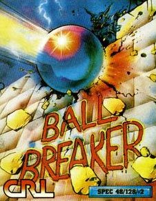 Caratula de Ball Breaker para Spectrum