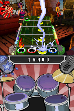 Pantallazo de Band Hero para Nintendo DS