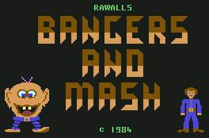 Pantallazo de Bangers And Mash para Commodore 64