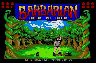 Pantallazo de Barbarian: The Ultimate Warrior para Atari ST