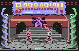 Pantallazo de Barbarian - The Ultimate Warrior Parte 1 para Commodore 64