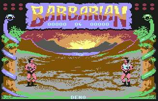 Pantallazo de Barbarian - The Ultimate Warrior Parte 2 para Commodore 64