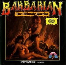 Caratula de Barbarian 1: The Ultimate Warrior para Spectrum