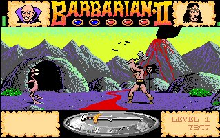 Pantallazo de Barbarian II: The Dungeon Of Drax para Amiga