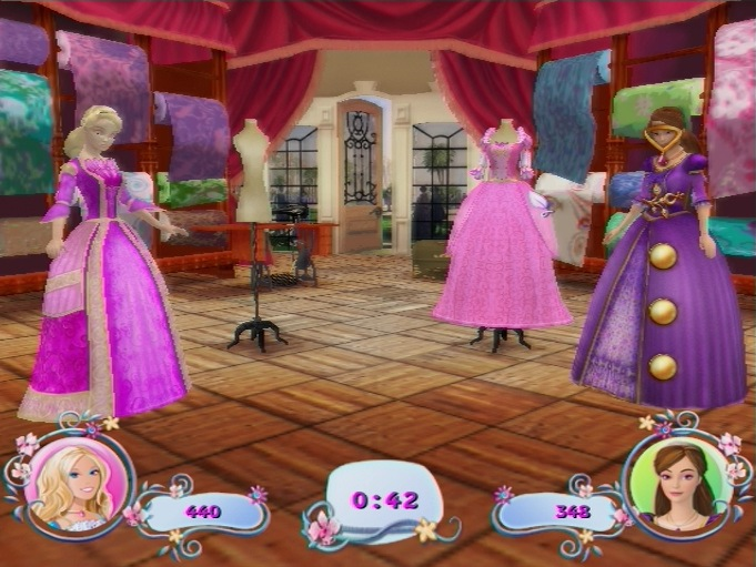 Pantallazo de Barbie: La Princesa De Los Animales para PlayStation 2