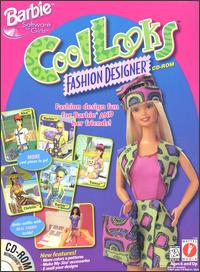 Caratula de Barbie Cool Looks Fashion Designer CD-ROM para PC