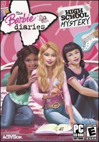 Caratula de Barbie Diaries: High School Mysteries para PC