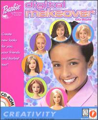 Caratula de Barbie Digital Makeover CD-ROM para PC