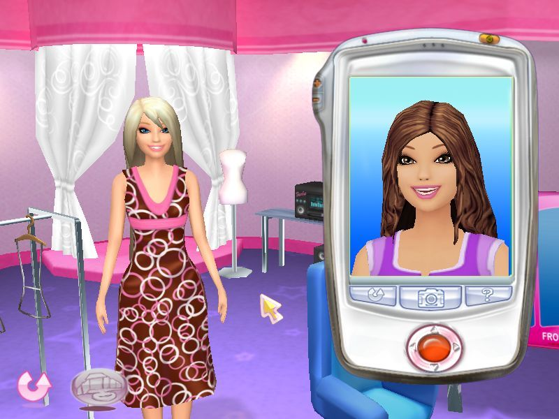Pantallazo de Barbie Fashion Show: Pasarela De Moda para PC