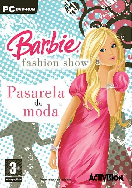 Caratula de Barbie Fashion Show: Pasarela De Moda para PC