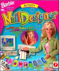 Caratula de Barbie Nail Designer CD-ROM para PC