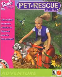 Caratula de Barbie Pet Rescue CD-ROM para PC