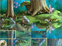 Pantallazo de Barbie of Swan Lake CD-ROM: The Enchanted Forest para PC
