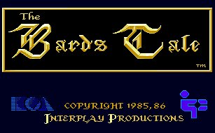 Pantallazo de Bard's Tale, The: Tales Of The Unknown para Amiga