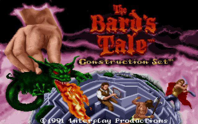 Pantallazo de Bard's Tale Construction Set, The para PC