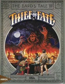 Caratula de Bard's Tale III, The: Thief Of Fate para Amiga
